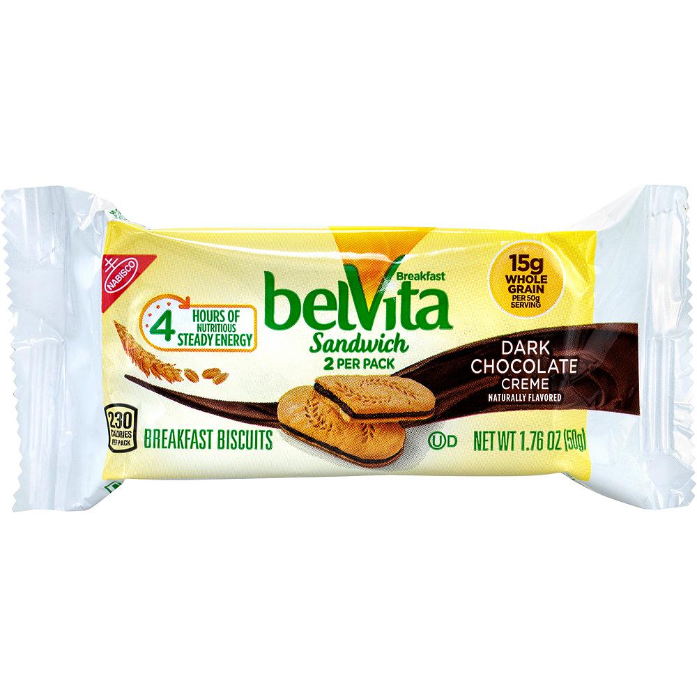 Belvita Dark Chocolate Creme Breakfast Sandwiches 25ct Image #3
