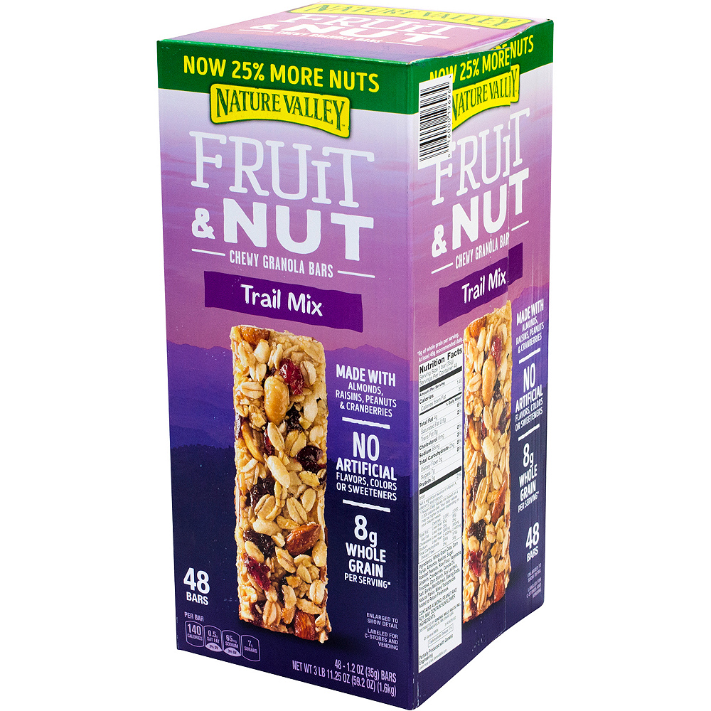 Nature Valley Trail Mix Fruit & Nut Chewy Granola Bars 48ct Image #4