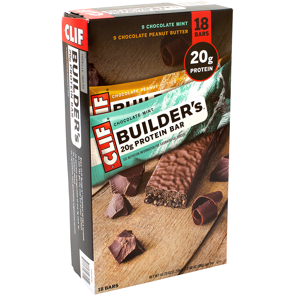 Clif Builder's 20g Protein Bar Variety Pack 18ct Image #1