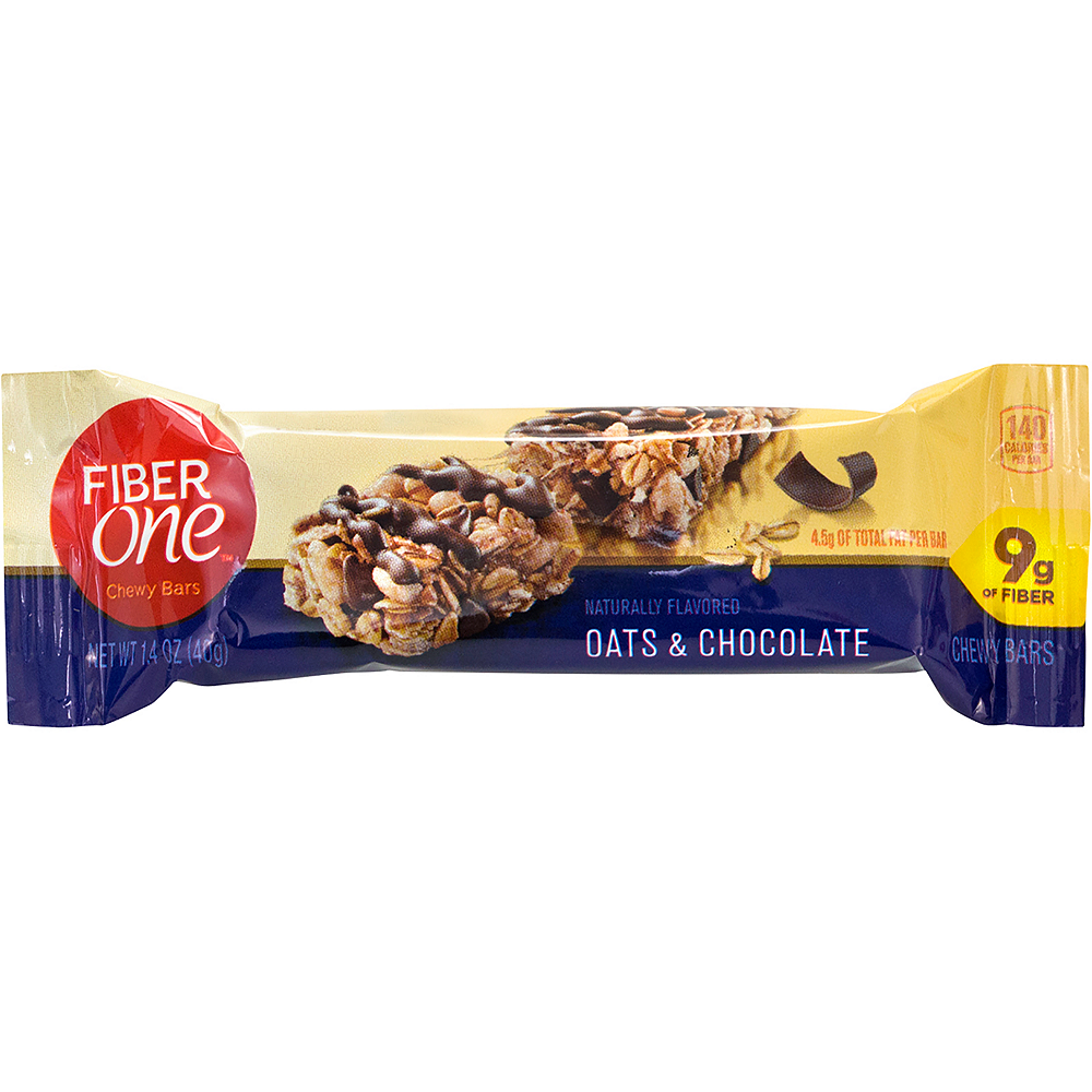 Fiber One Oats & Chocolate Chewy Bars 36ct Image #2