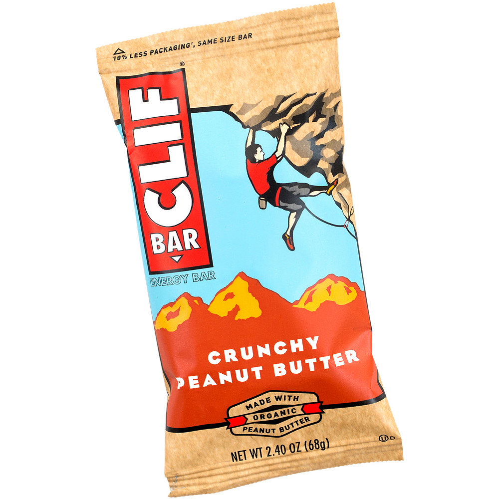 Clif Bar Crunchy Peanut Butter Energy Bars 12ct Image #2