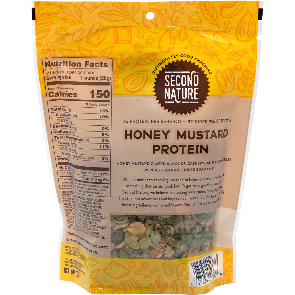Second Nature Honey Mustard Protein Nut Mix 2-Pack Image #3