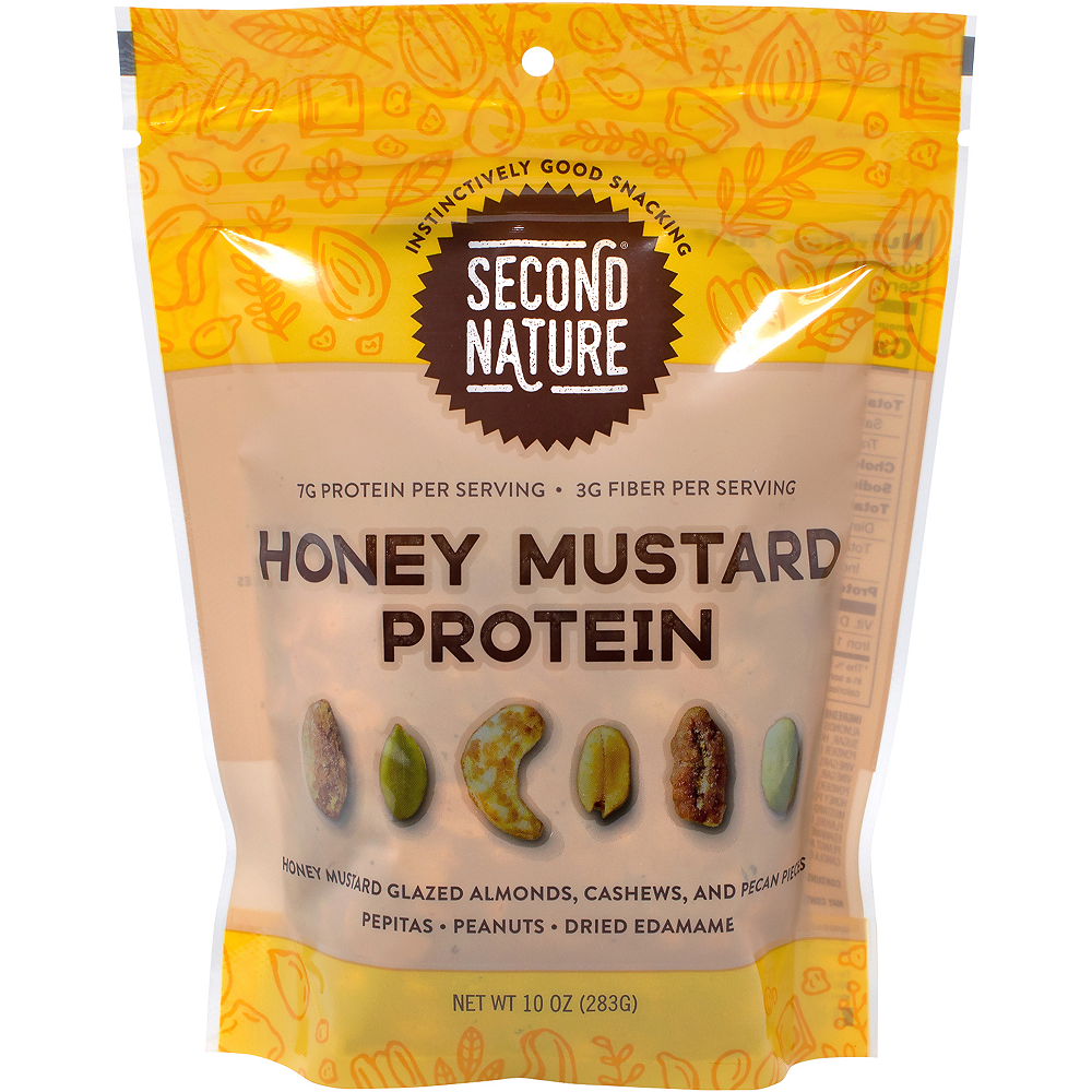 Second Nature Honey Mustard Protein Nut Mix 2-Pack Image #4