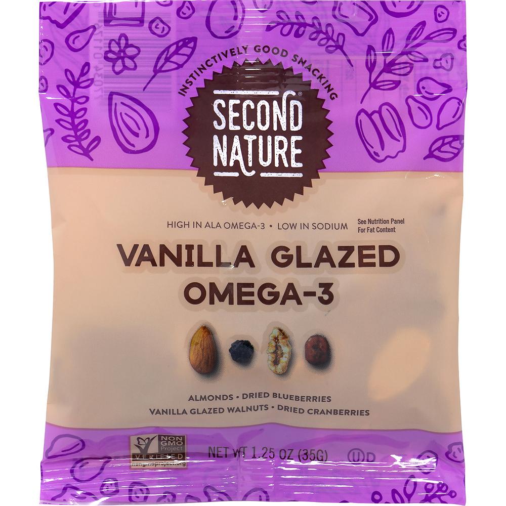 Second Nature Vanilla Glazed Omega-3 Nut Mix Packs 16ct Image #2