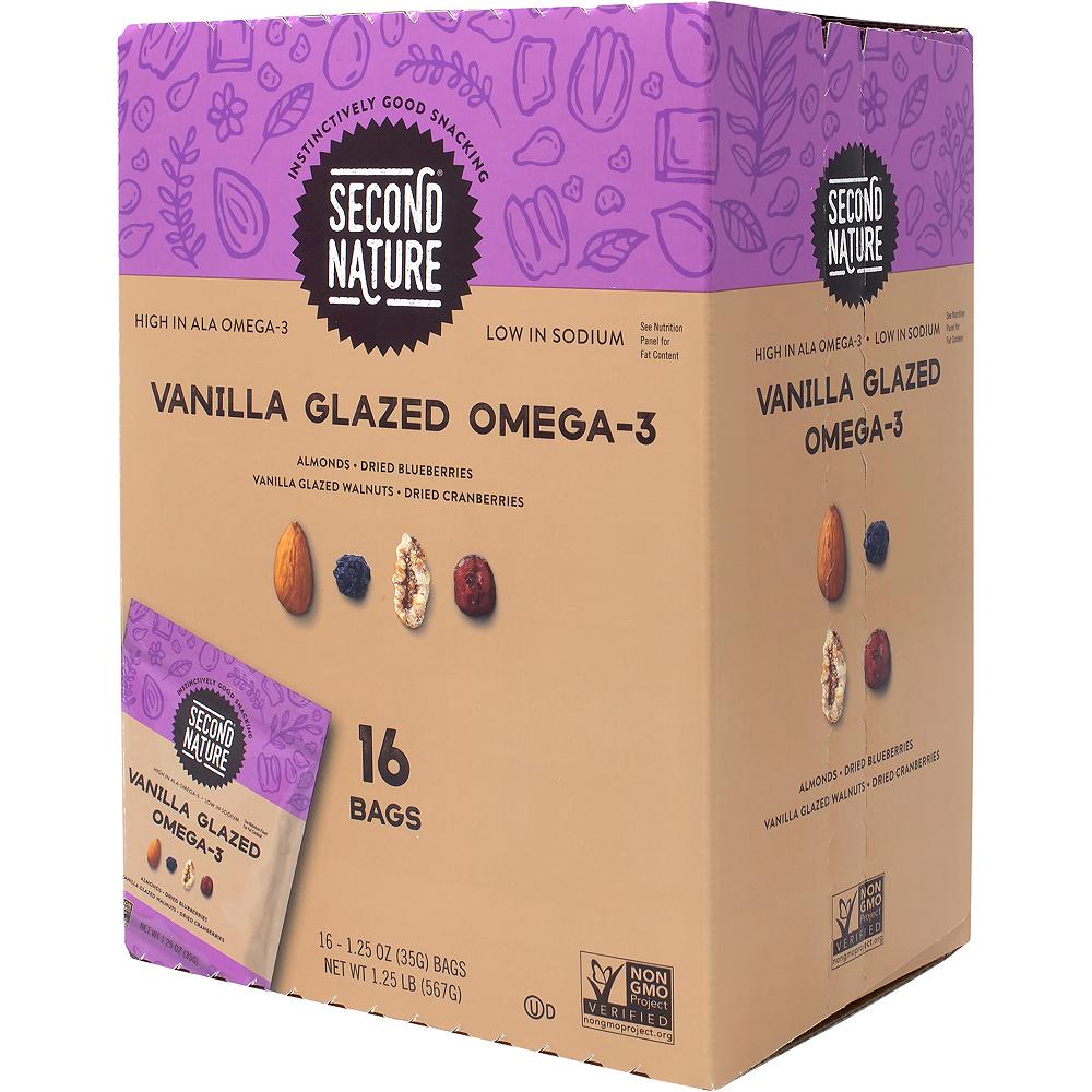 Second Nature Vanilla Glazed Omega-3 Nut Mix Packs 16ct Image #4
