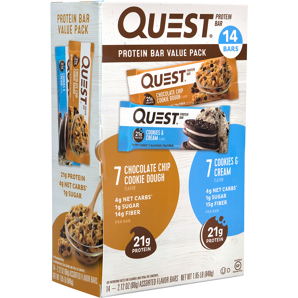 Quest Protein Bar Value Pack 14ct Image #4