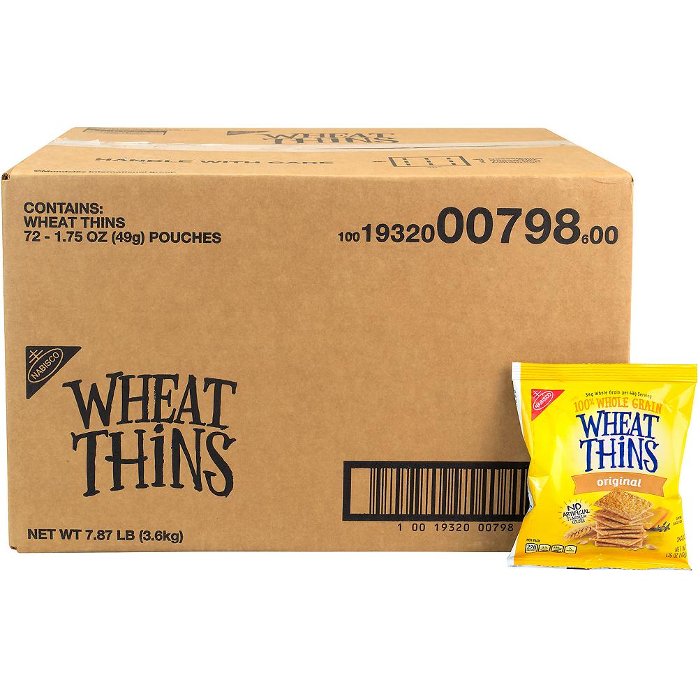 Nabisco Wheat Thins Packs 72ct Image #1