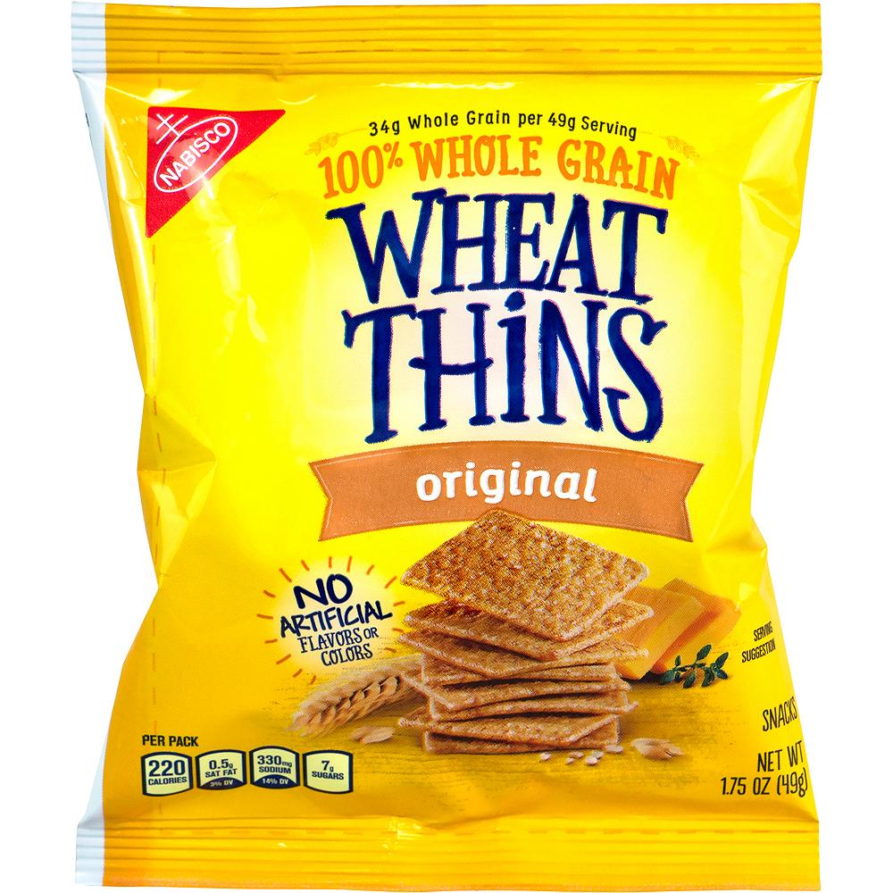 Nabisco Wheat Thins Packs 72ct Image #2