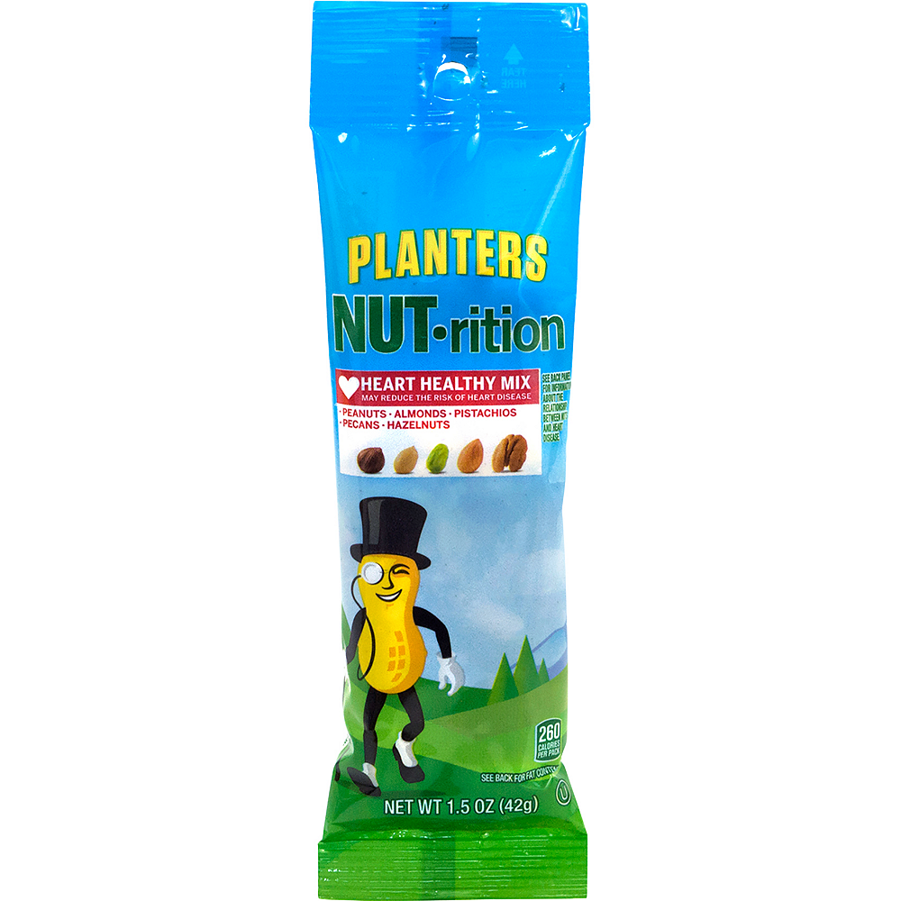 Planters Nut-rition Heart Healthy Mix Packs 12ct Image #2