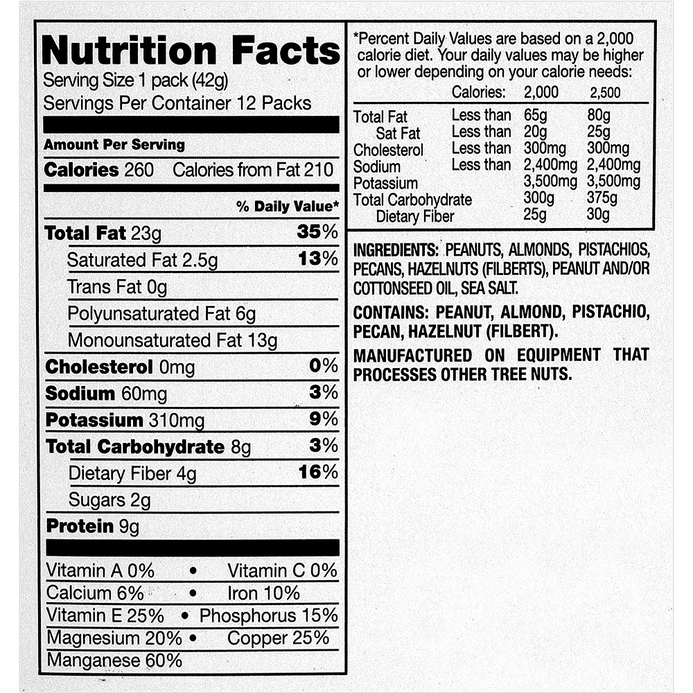 Planters Nut-rition Heart Healthy Mix Packs 12ct Image #4