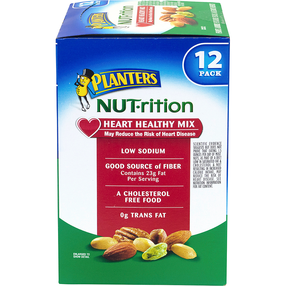 Planters Nut-rition Heart Healthy Mix Packs 12ct Image #5