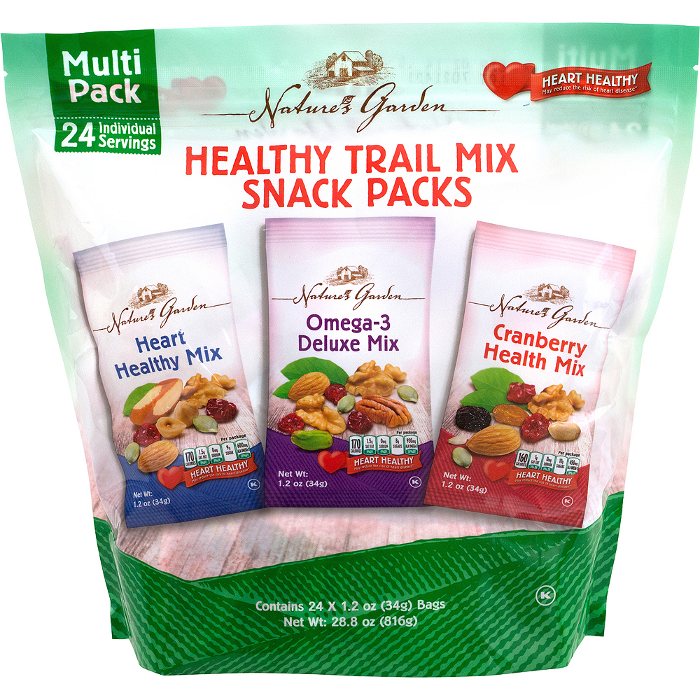 Nature's Garden Healthy Trail Mix Snack Packs 24ct Image #1