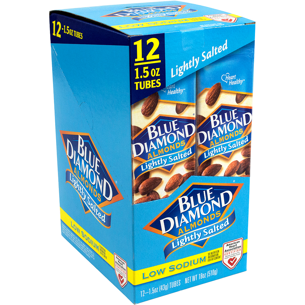 Blue Diamond Almonds Lightly Salted Packs 12ct Image #1