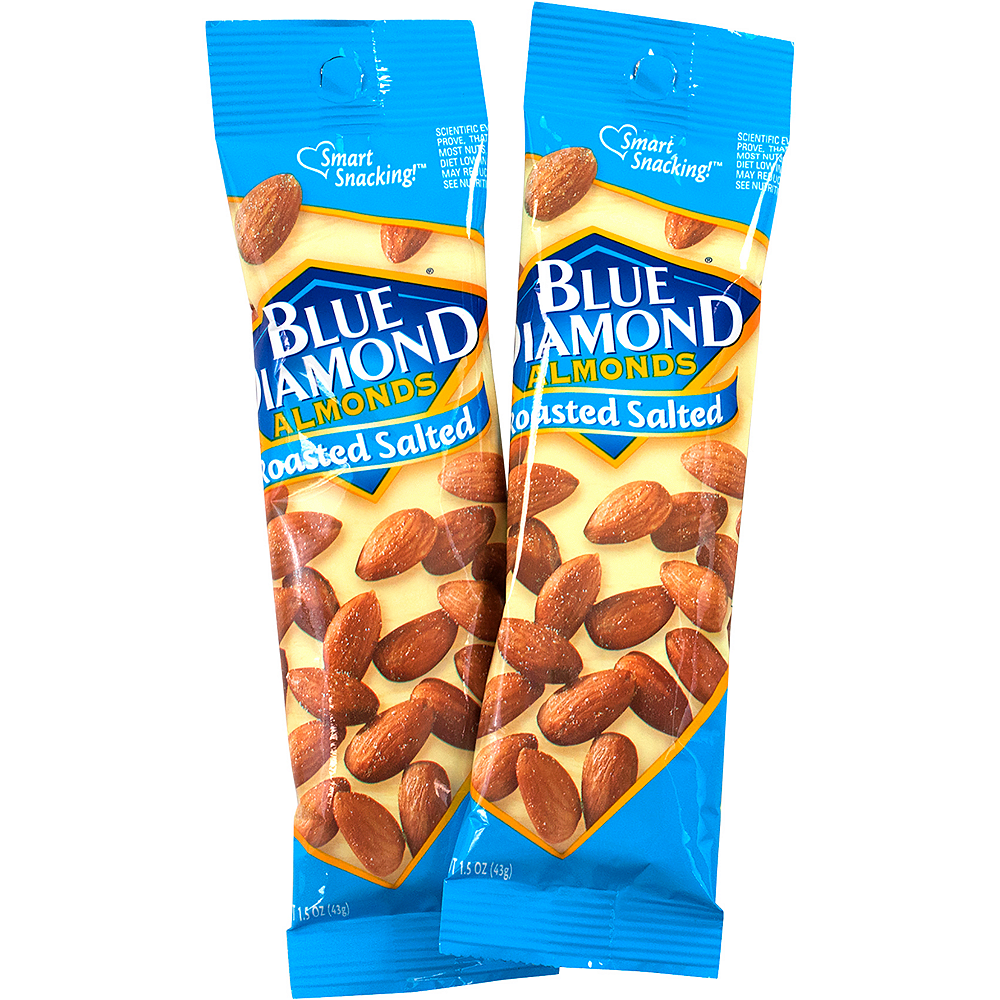 Nav Item for Blue Diamond Almonds Roasted Salted Packs 12ct Image #2