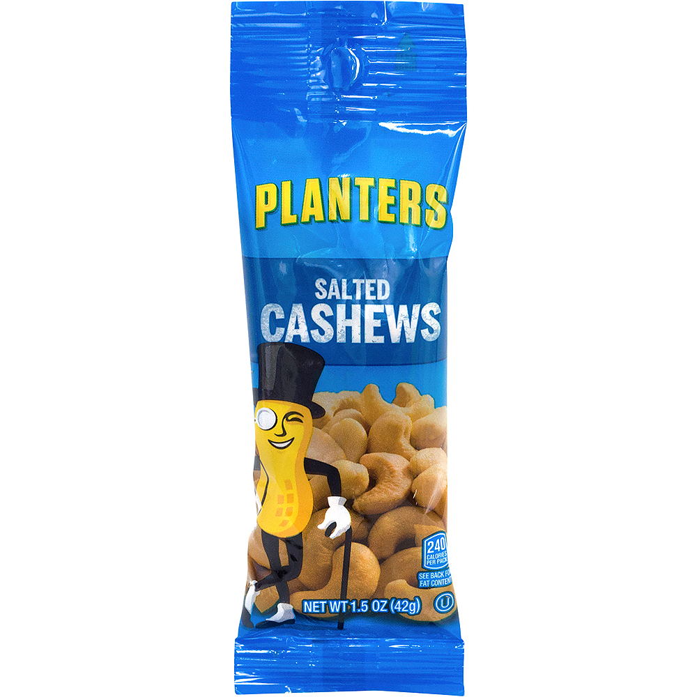 Planters Salted Cashew Nut Packs 18ct Image #1