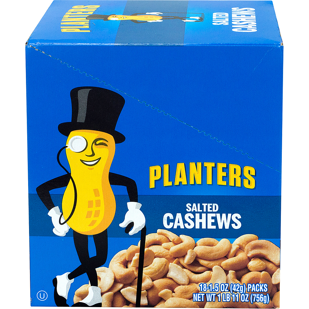 Planters Salted Cashew Nut Packs 18ct Image #2