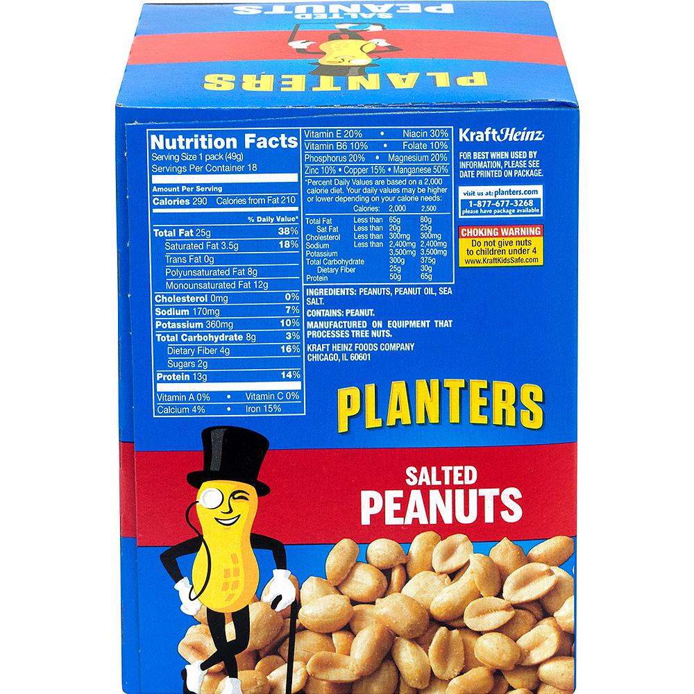 Planters Salted Peanut Packs 18ct Image #4