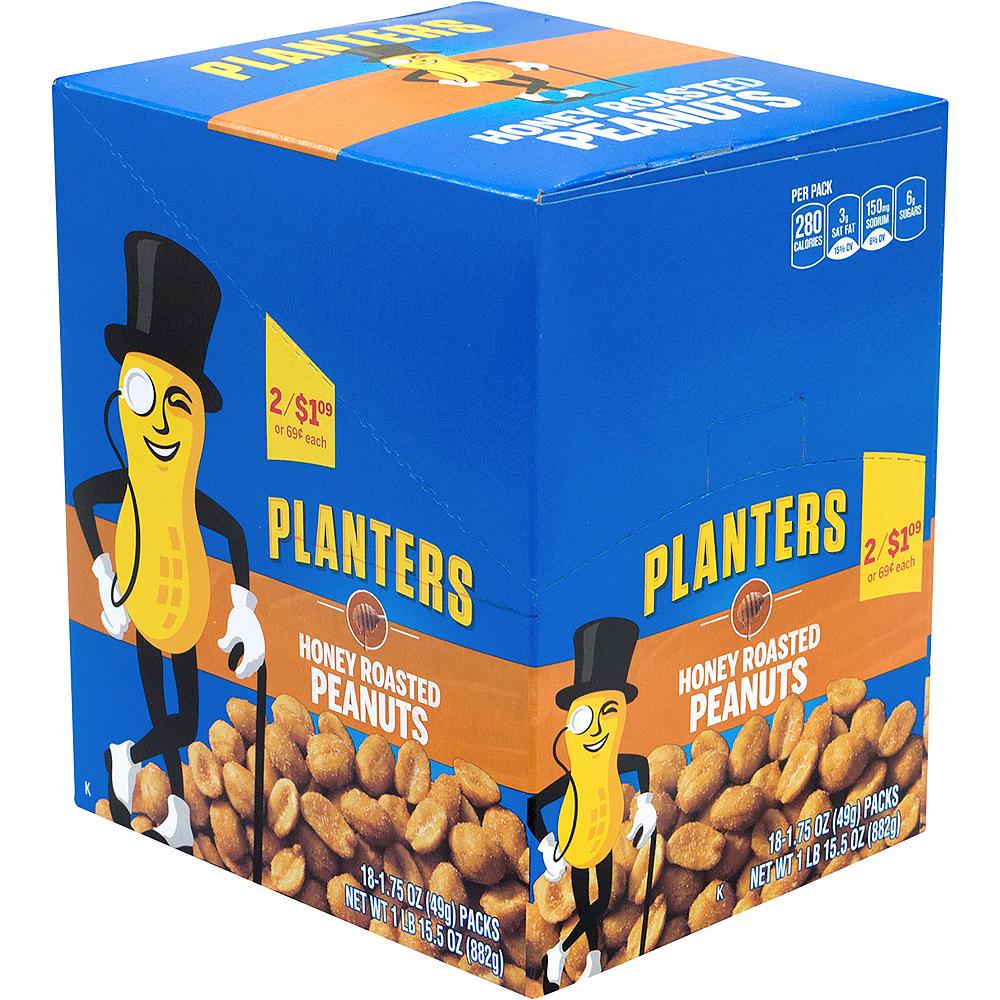 Planters Honey Roasted Peanut Packs 18ct Image #1