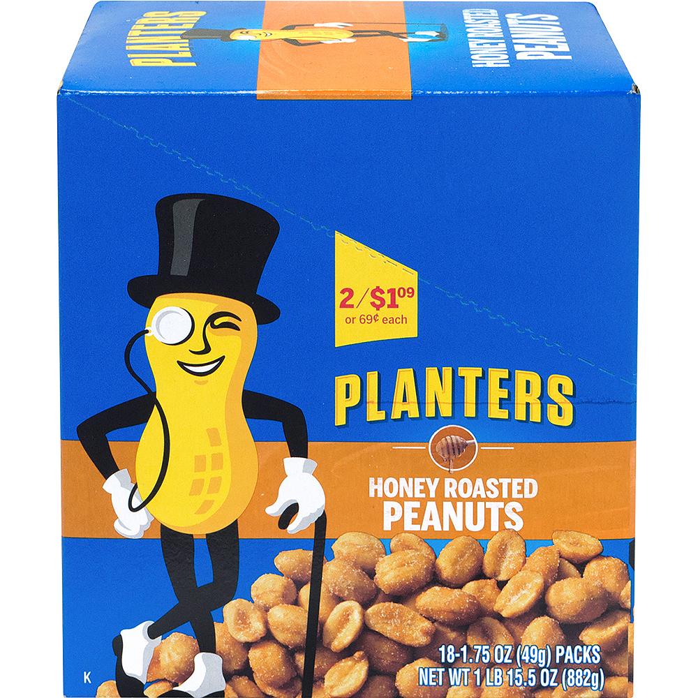 Planters Honey Roasted Peanut Packs 18ct Image #3