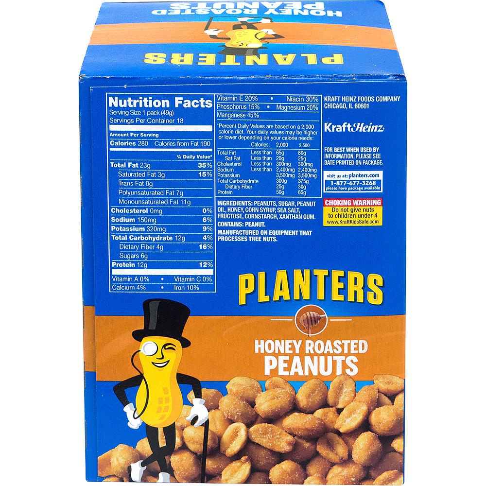 Planters Honey Roasted Peanut Packs 18ct Image #4