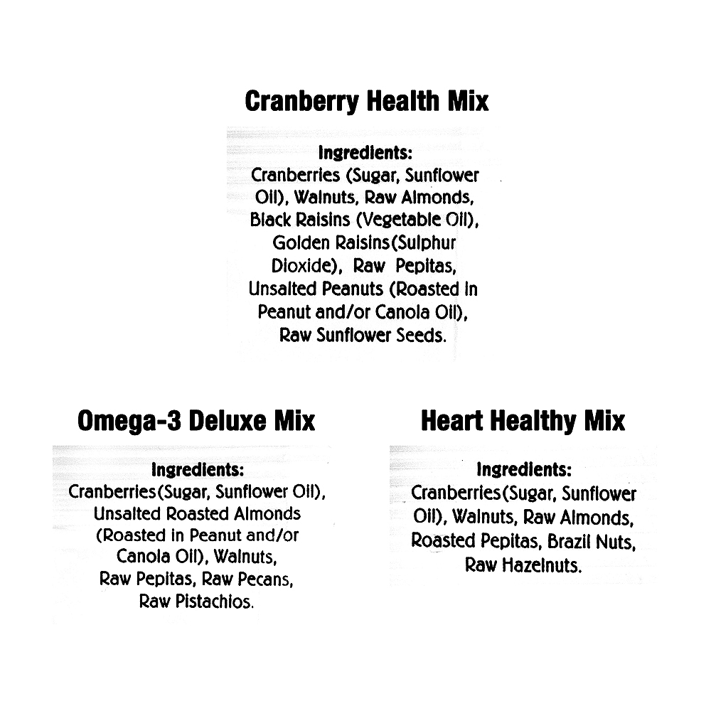 Nature's Garden Healthy Trail Mix Variety Pack 50ct Image #2