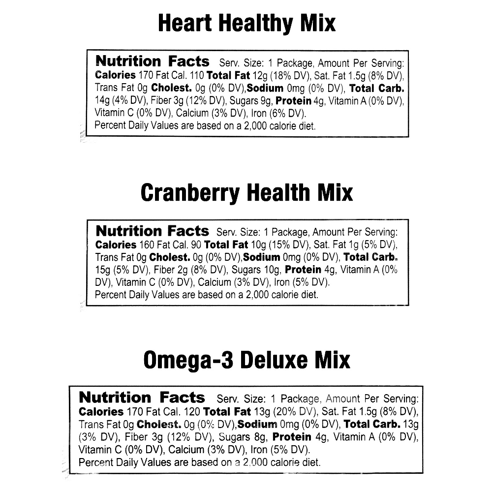 Nature's Garden Healthy Trail Mix Variety Pack 50ct Image #3