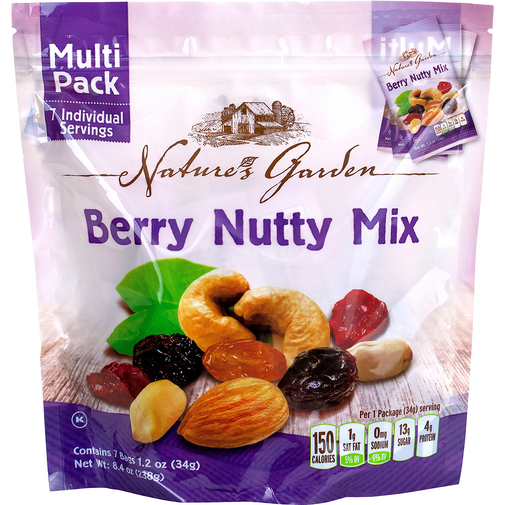 Nature's Garden Berry Nutty Mix Multi Pack 42ct Image #1