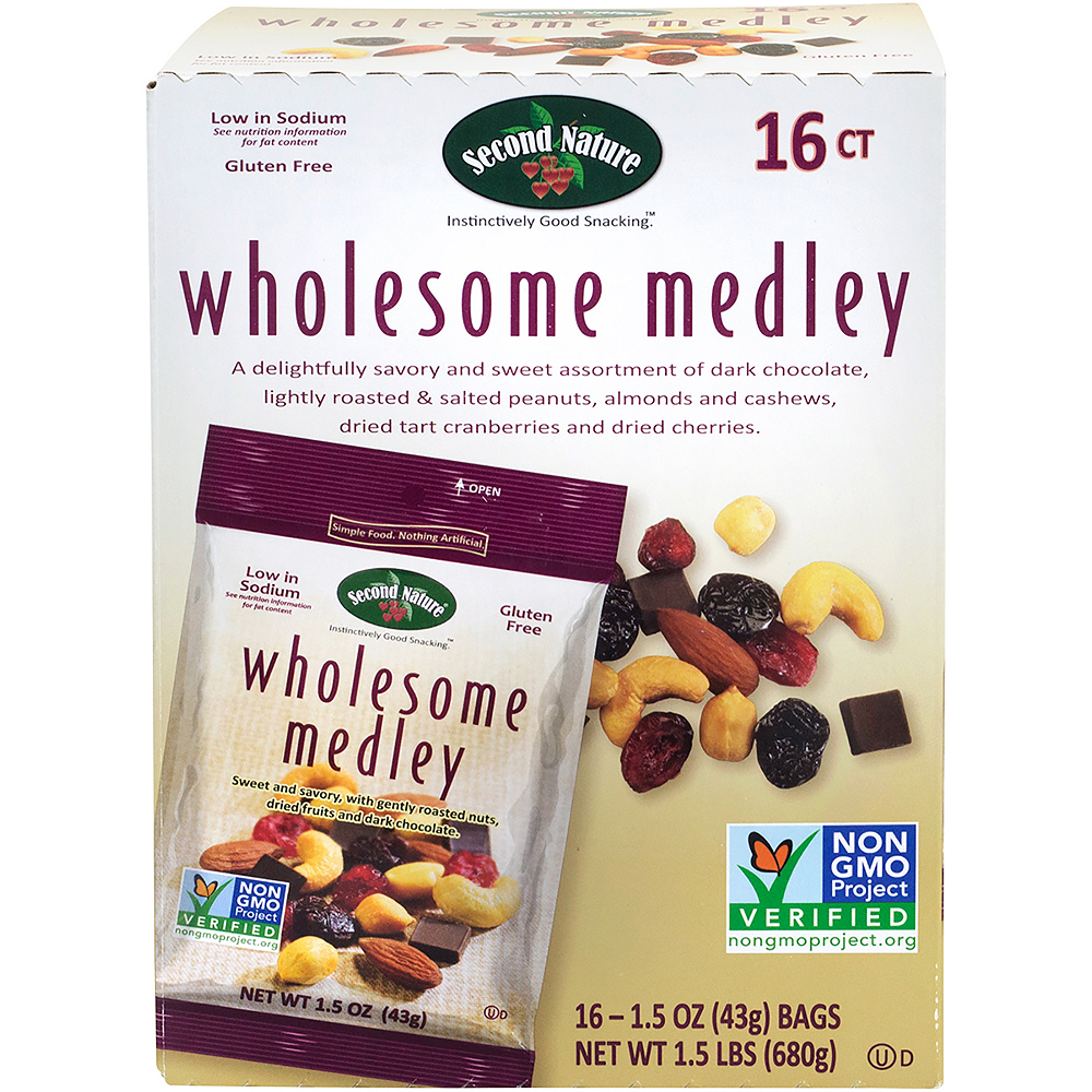 Second Nature Wholesome Medley Packs 16ct Image #3