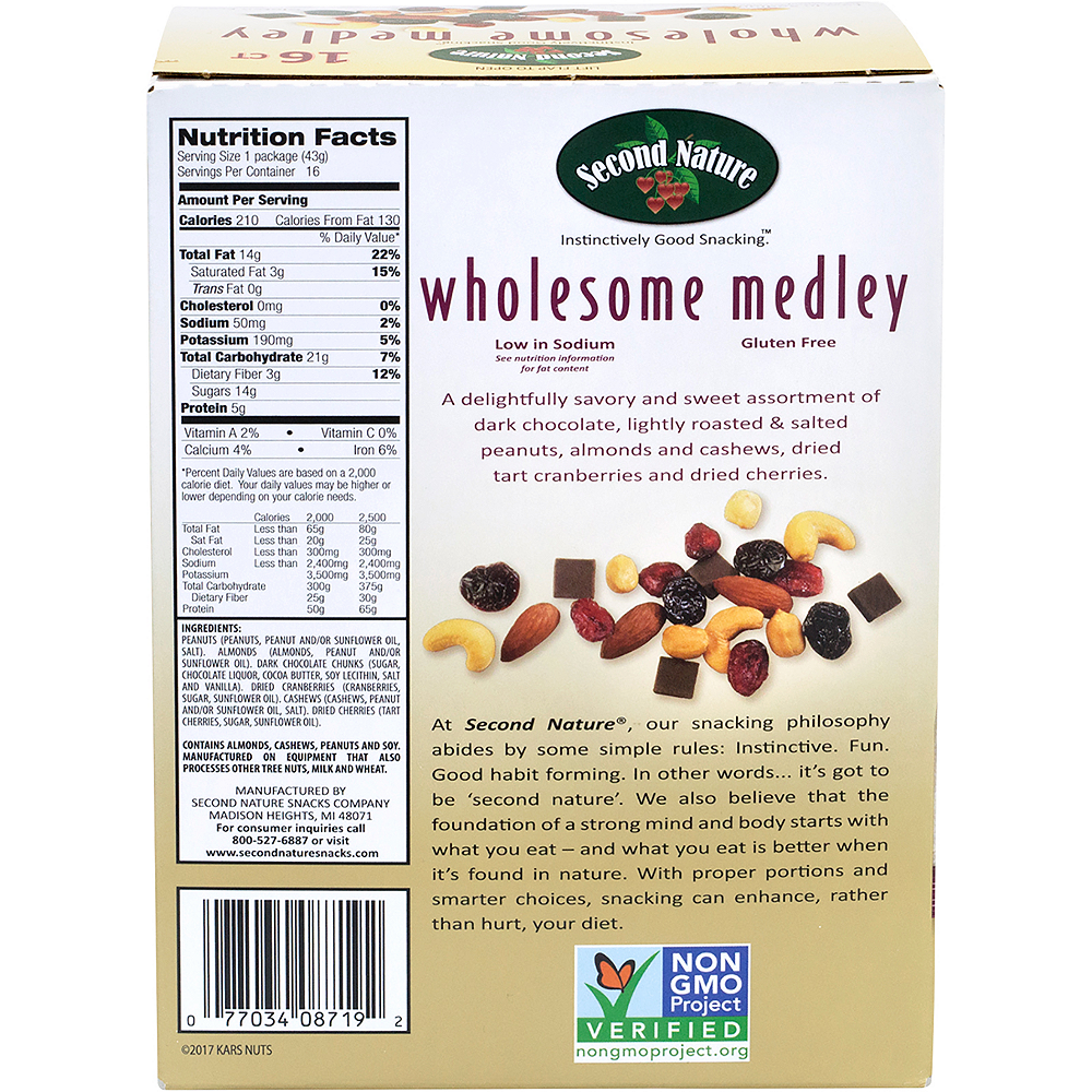 Second Nature Wholesome Medley Packs 16ct Image #4
