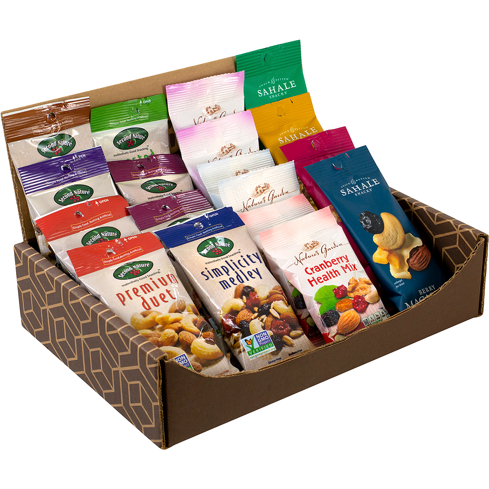 Healthy Mixed Nuts Snack Box 18ct Image #1