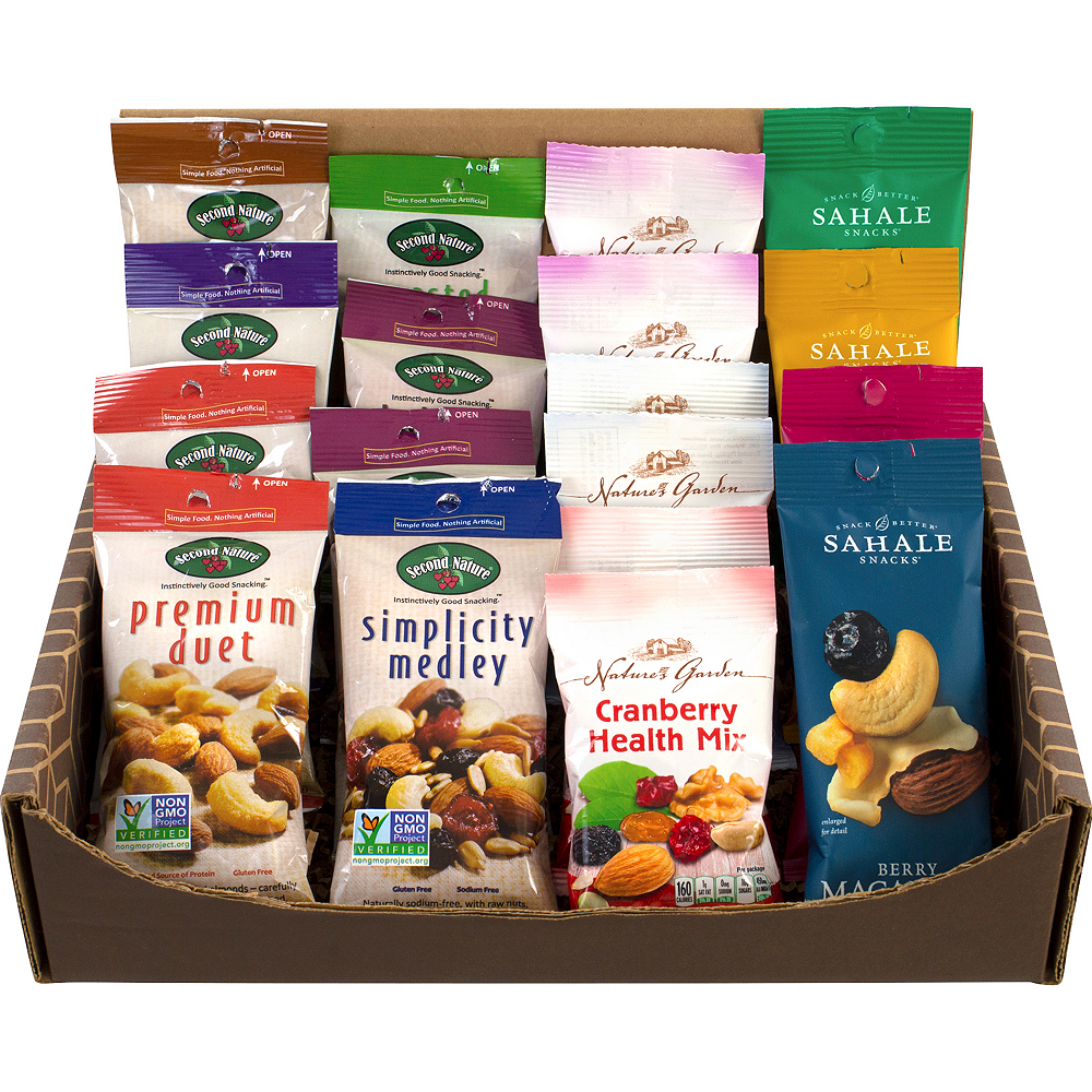 Healthy Mixed Nuts Snack Box 18ct Image #2