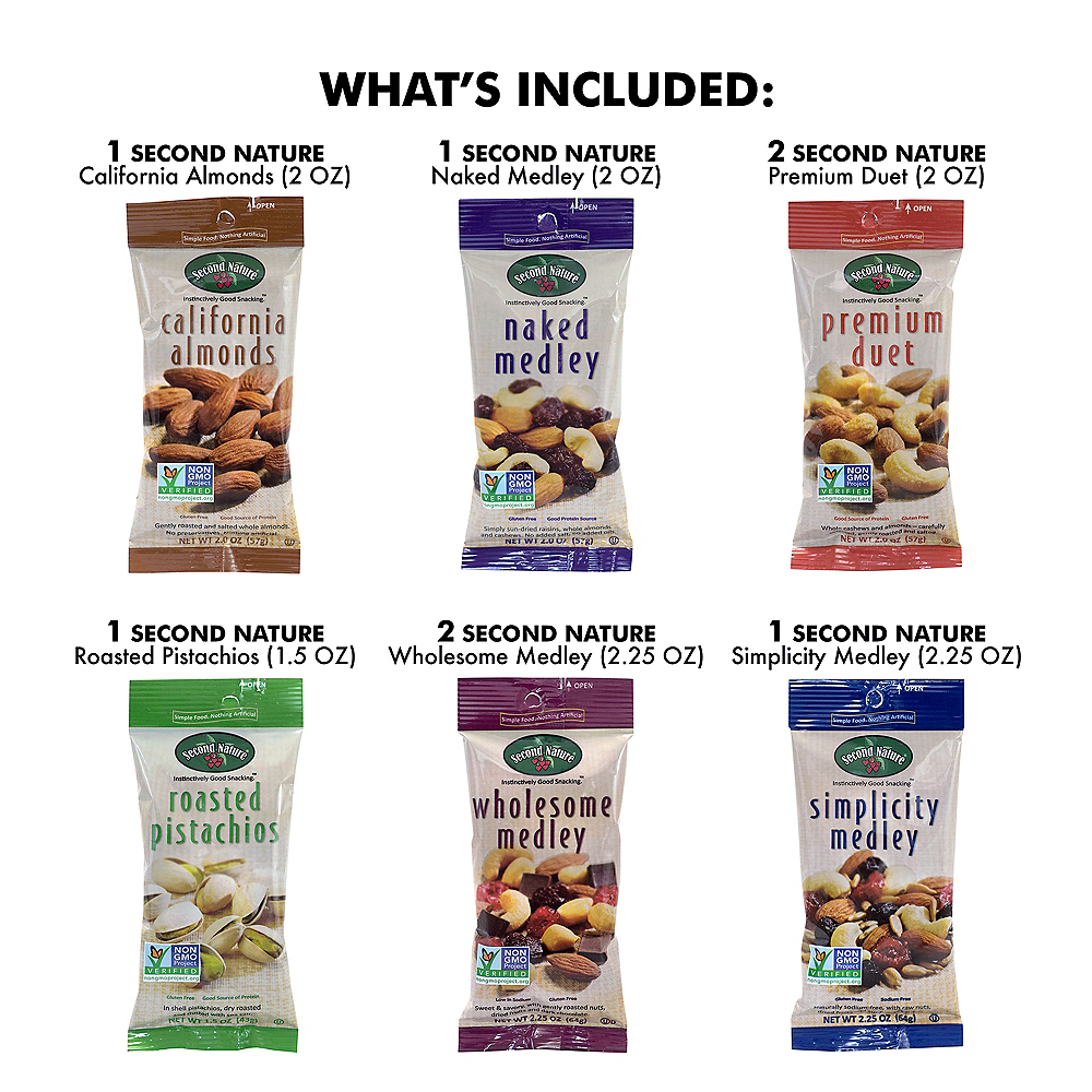 Healthy Mixed Nuts Snack Box 18ct Image #4