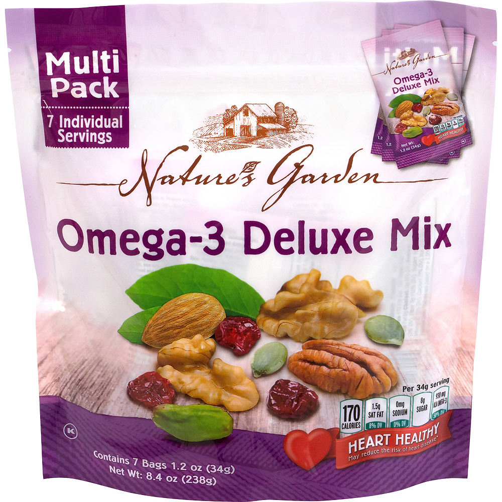 Nature's Garden Omega-3 Deluxe Mix Multi Pack 42ct Image #1