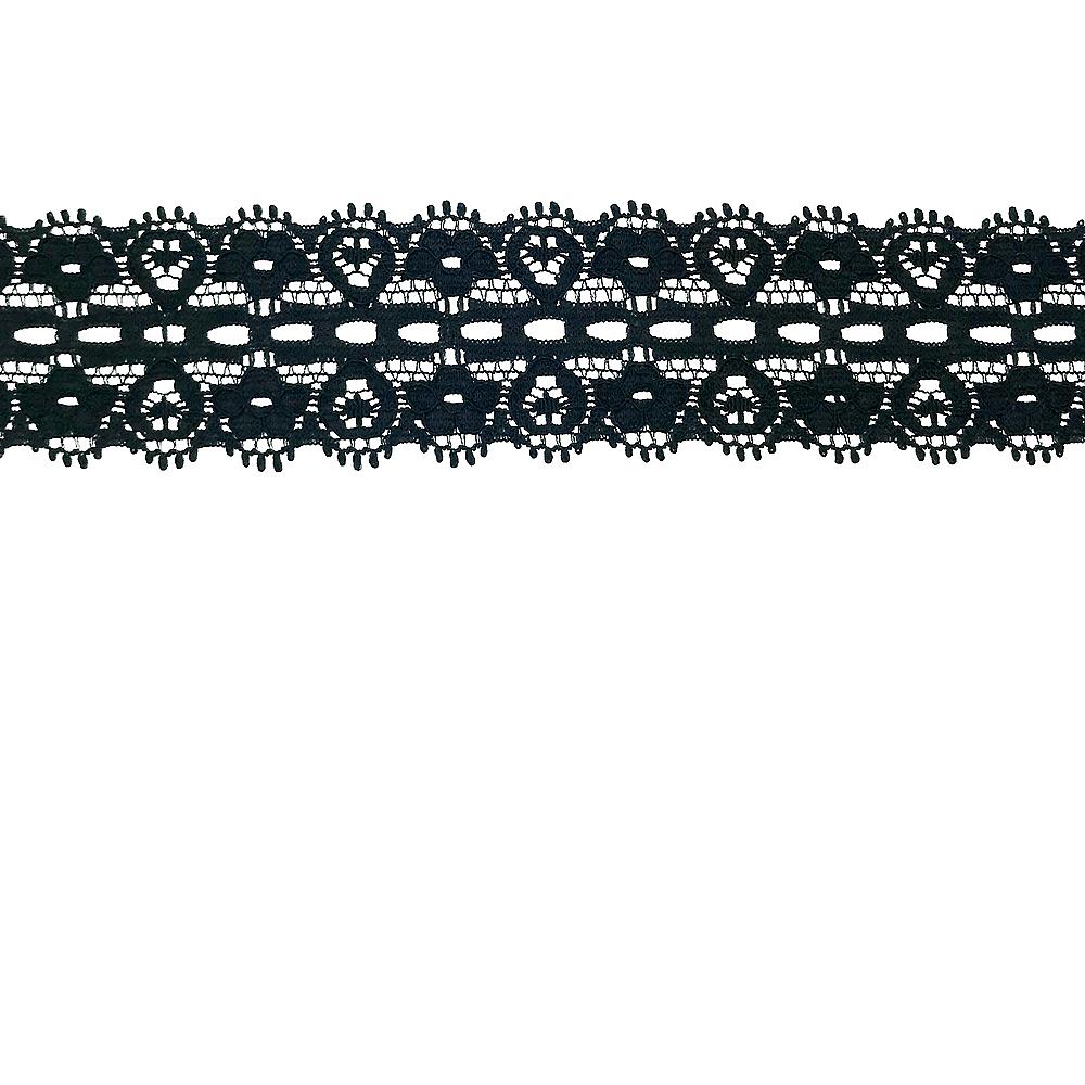 DIY Black Lace Trim Image #1