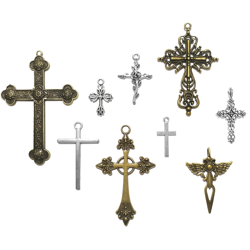DIY Assorted Cross Charms Image #1
