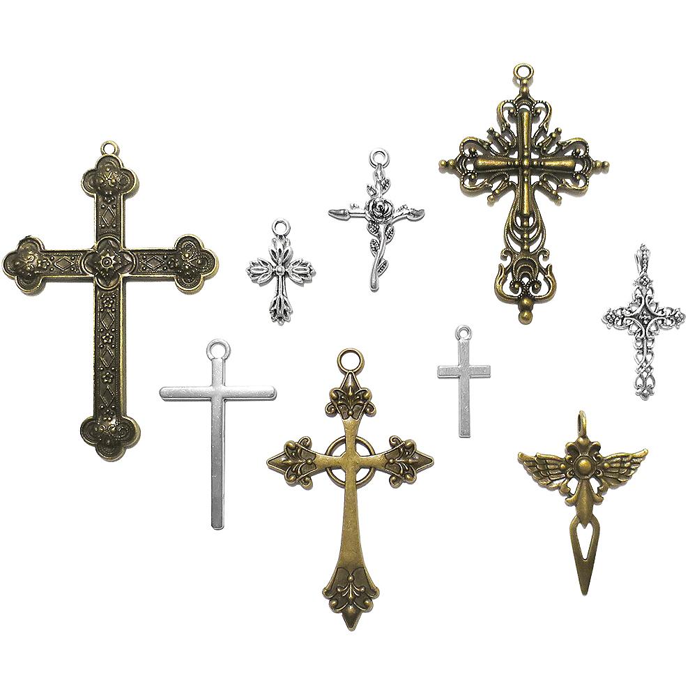 DIY Assorted Cross Charms Image #1