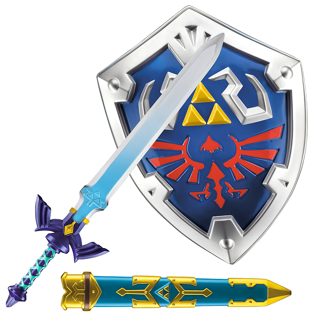 The Legend of Zelda Sword & Shield Kit Image #1