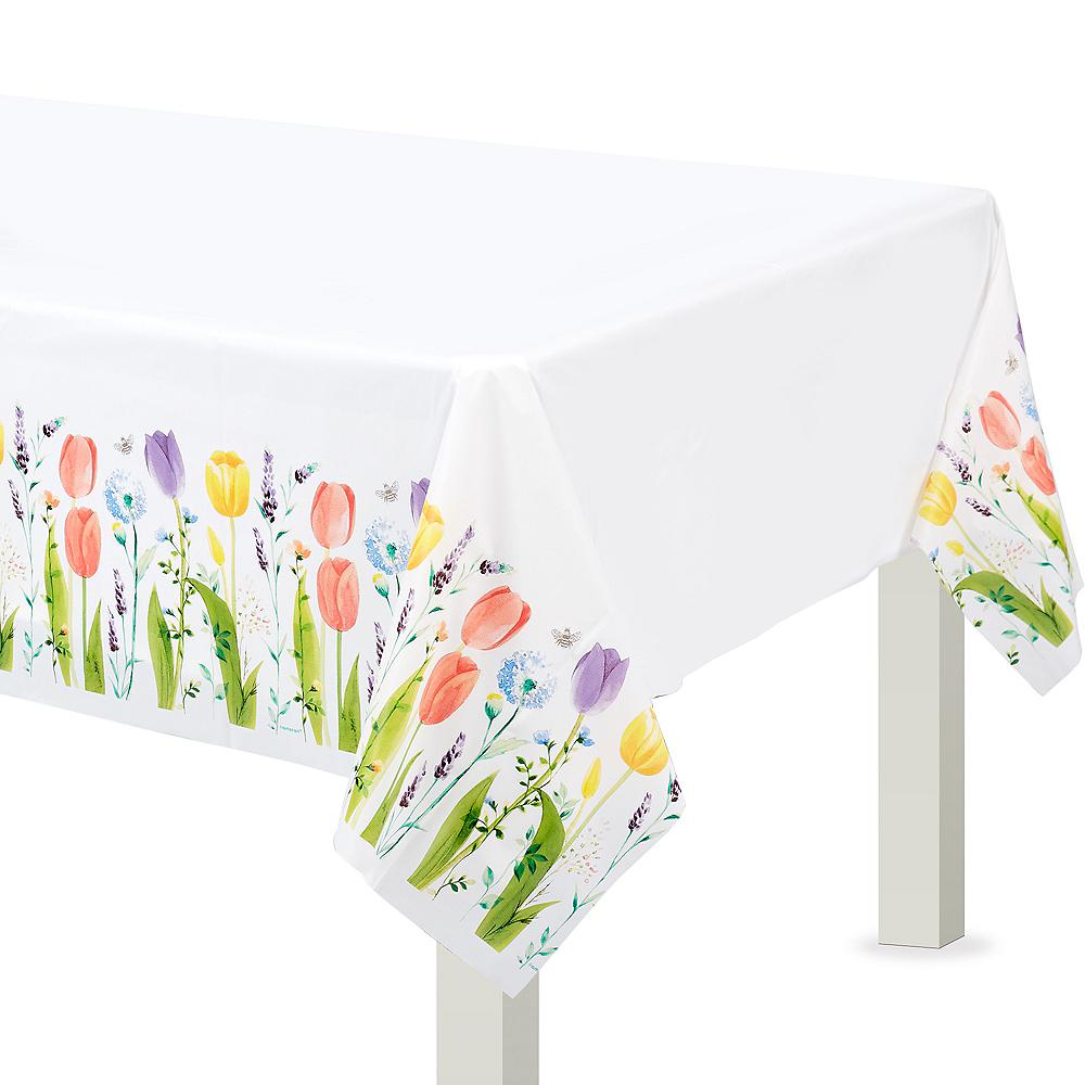 Tulip Garden Table Cover Image #1