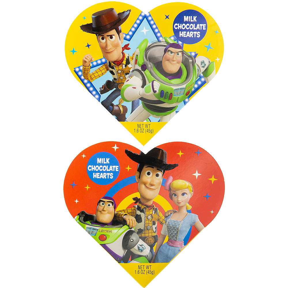 Milk Chocolate Toy Story Valentine's Day Box 6pc Image #1