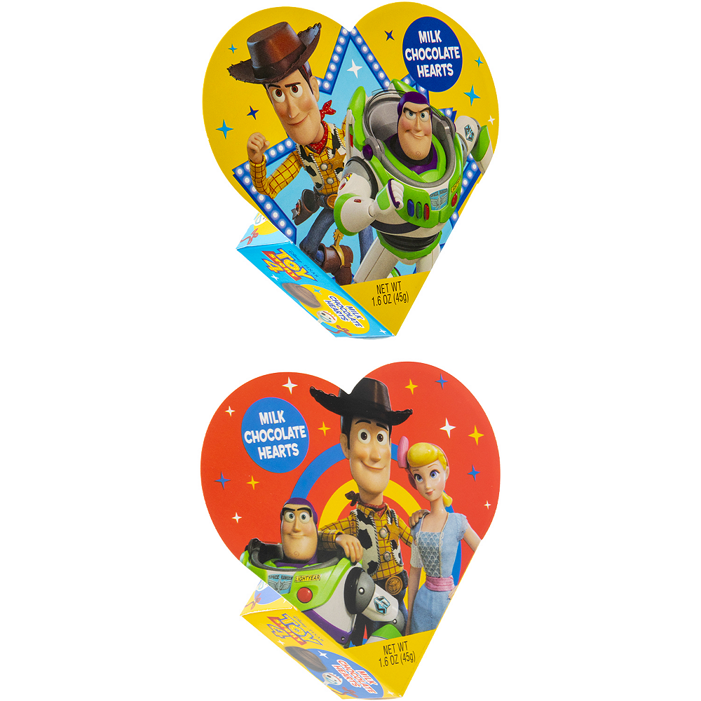 Milk Chocolate Toy Story Valentine's Day Box 6pc Image #2
