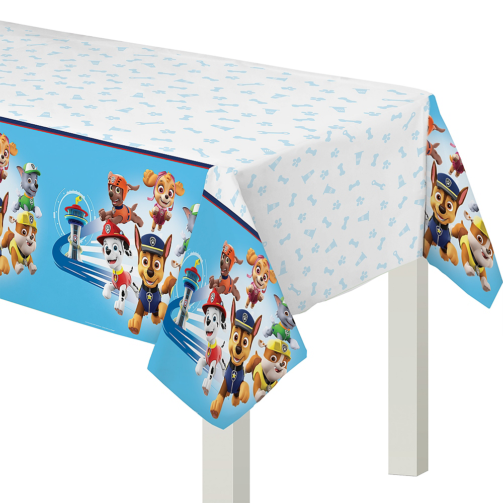 PAW Patrol Adventures Plastic Table Cover Image #1