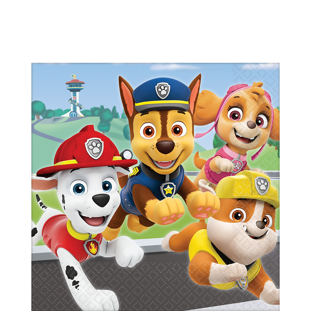 PAW Patrol Adventures Lunch Napkins 16ct Image #1
