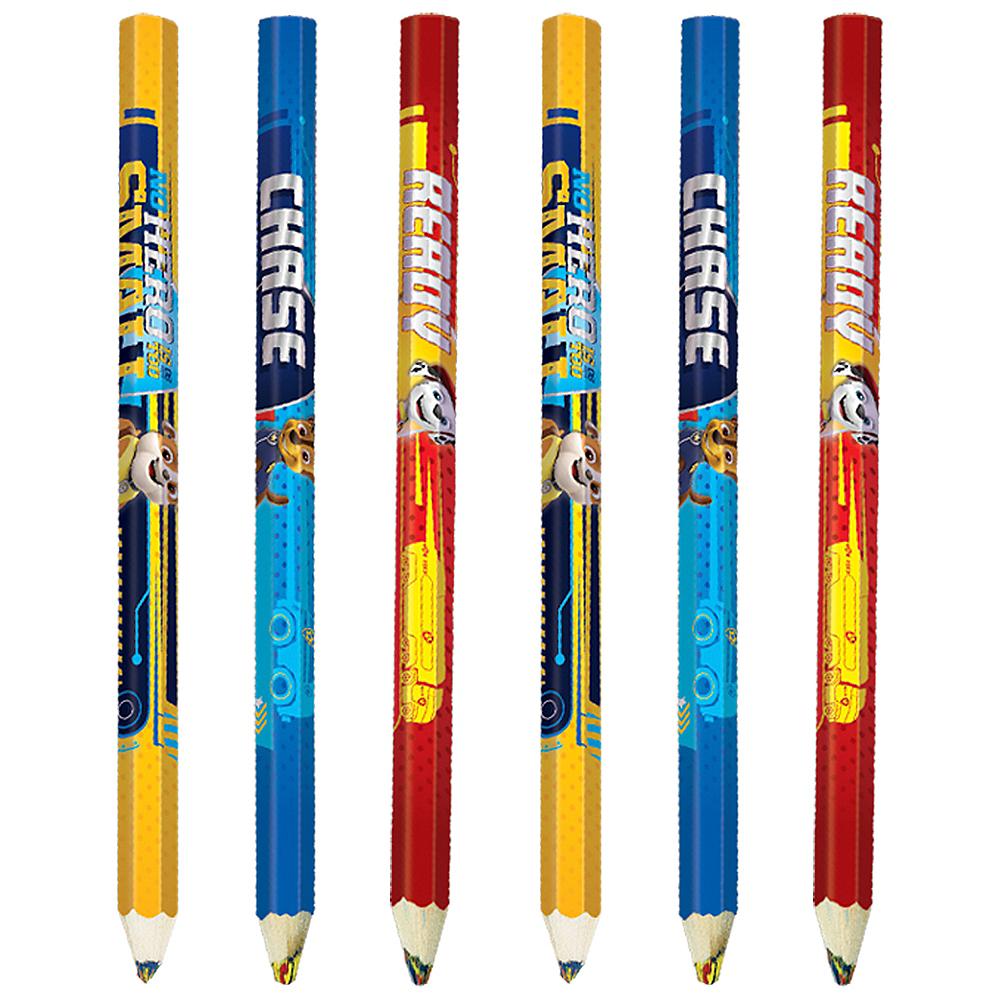 PAW Patrol  Adventures Multicolor Pencils 6ct Image #1