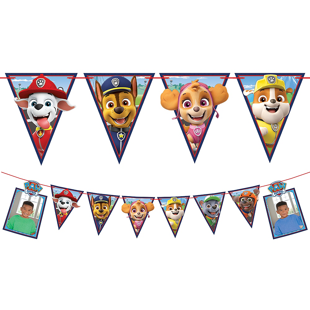 PAW Patrol Adventures Photo Pennant Banner Image #1