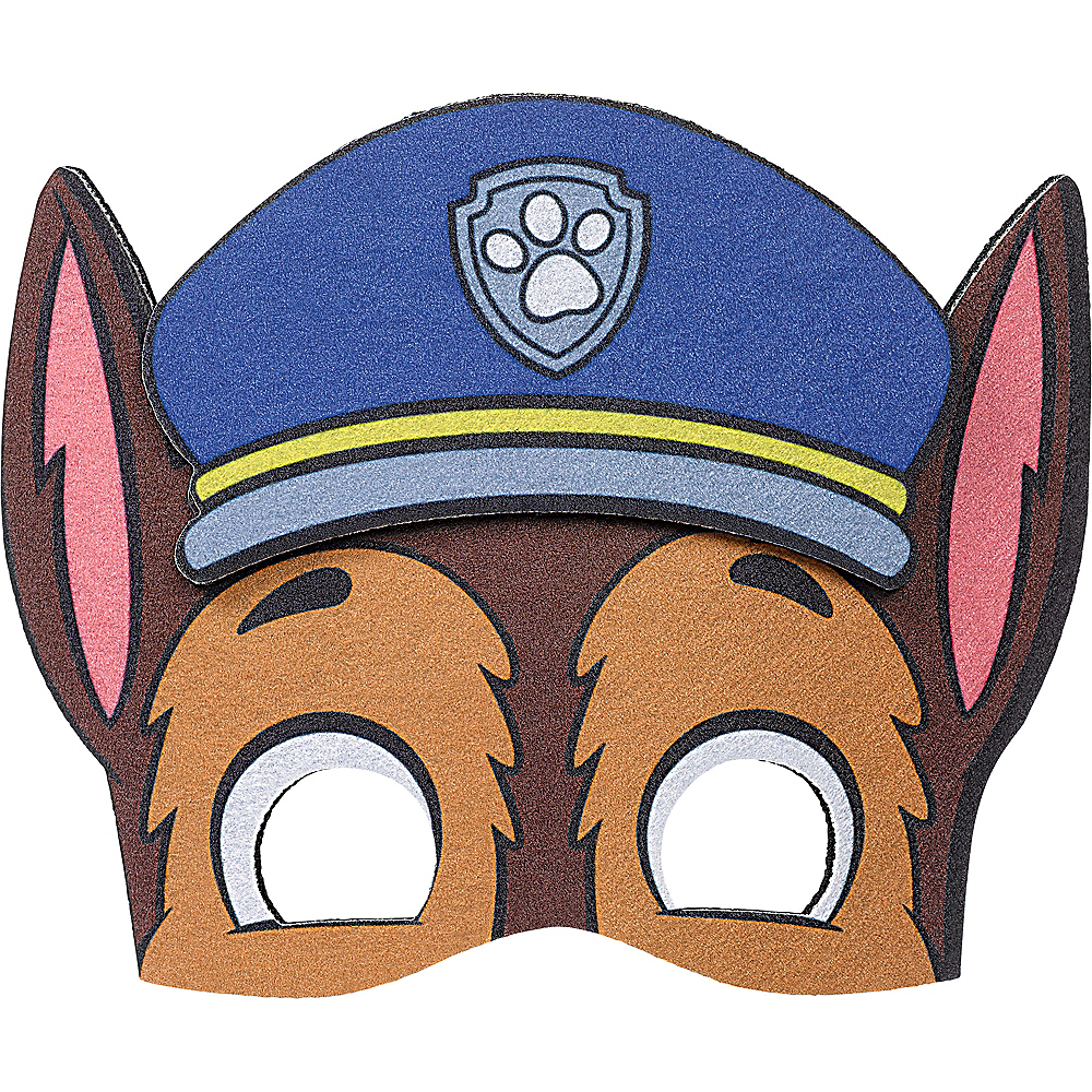Nav Item for PAW Patrol Adventures Felt Chase Mask Image #1