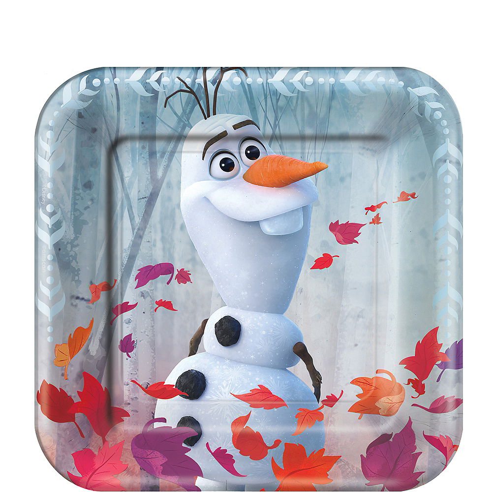 Nav Item for Frozen 2 Dessert Plates 8ct Image #1