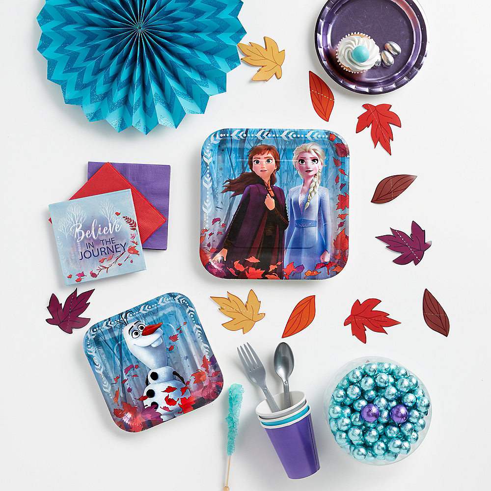 Nav Item for Frozen 2 Dessert Plates 8ct Image #4
