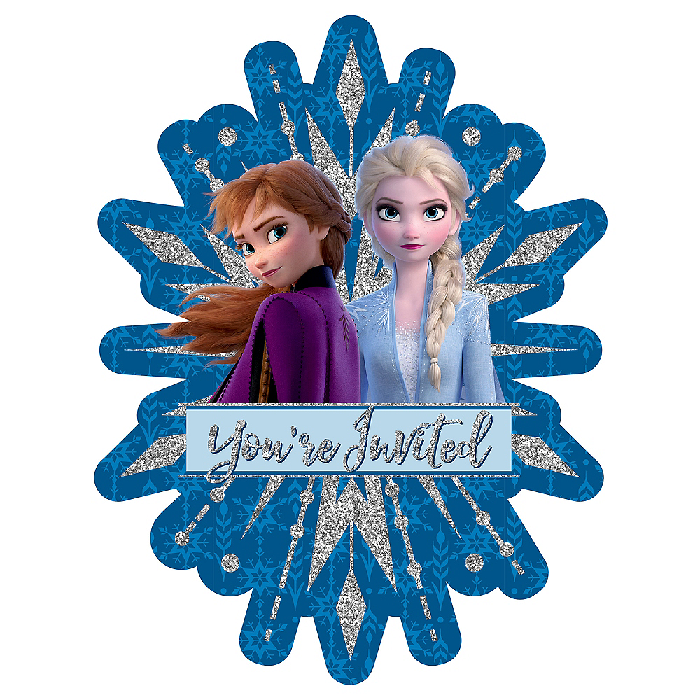 Frozen 2 Invitations 8ct Image #1