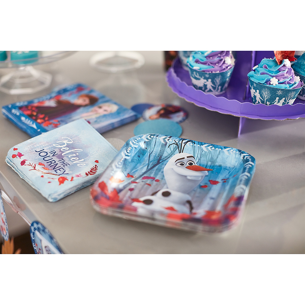Glitter Frozen 2 Cupcake Kit for 24 Image #3