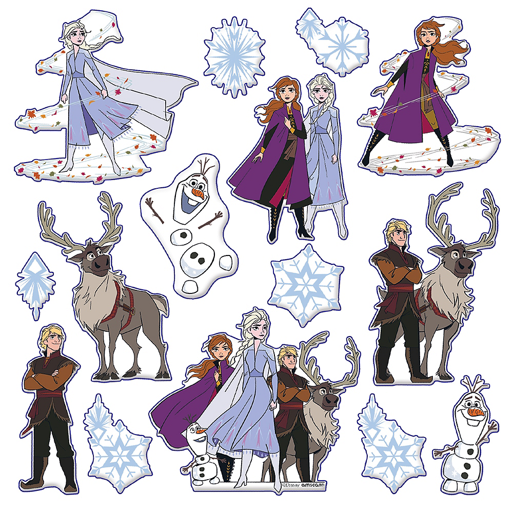 Nav Item for Frozen 2 Puffy Stickers 1 Sheet Image #1